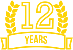 12 years icon